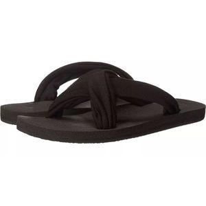 SANUK ex-hale Criss Cross Yoga Sandals! Sz 10